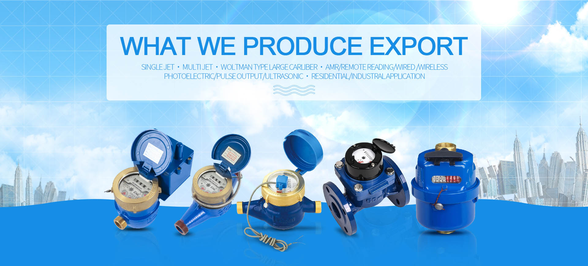 Water meters manufacturer